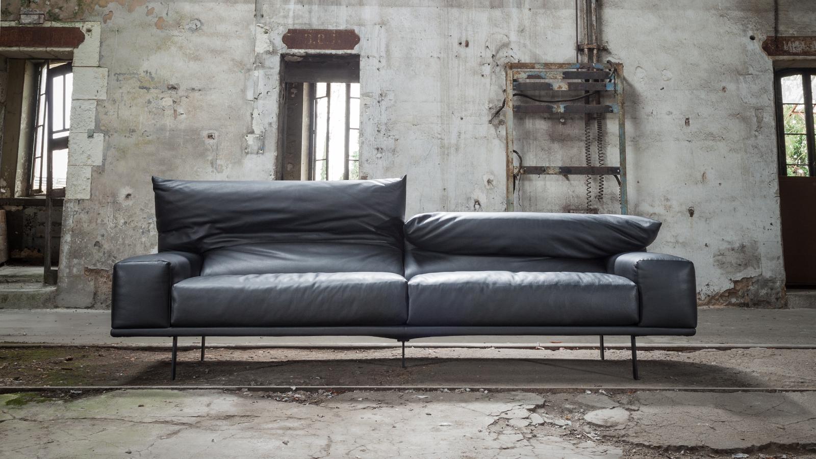 Triss fabriquant de mobilier contemporain haut de gamme - Canape cuir italien contemporain ...